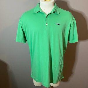 Green Patagonia polo shirt L